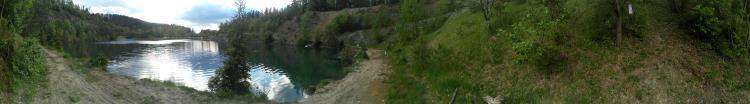 Slovakia Poprad-Kvetnica flooded quarry